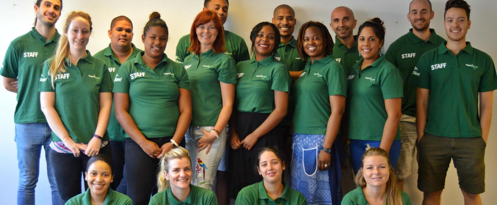 La nostra squadra di Supporto ai Volontari